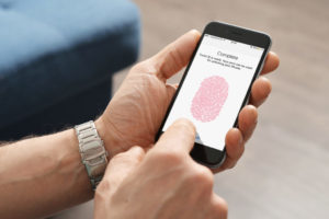 iphone finger print sensor