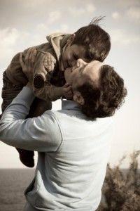 child & dad