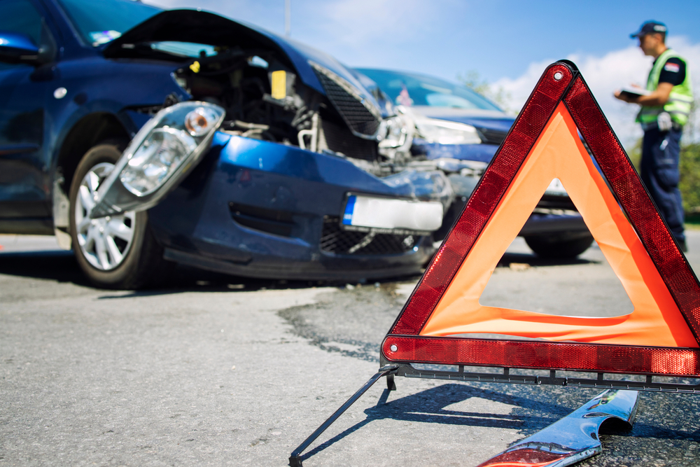 Car accidents in dangerous intersection in Sun City.